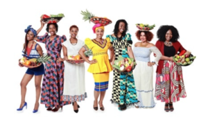 A variety of Black women standing proudly.
